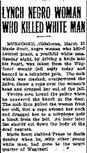 Marie Scott Olympia Daily Recorder 03311914-page-001