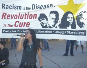albuquerque protest