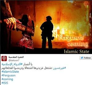 ISIS-Feruson-IS-Coming-Axe-Tweet