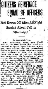 Moses Johnson Attempted Fort Worth Star-Telegram 07091914-page-001
